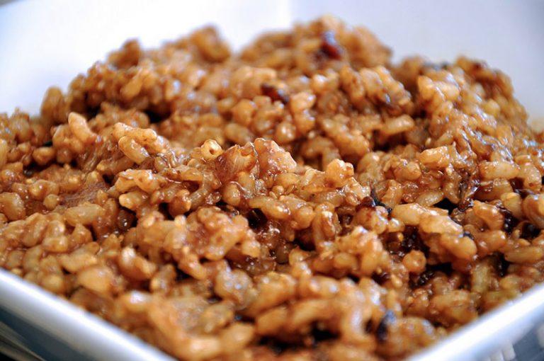 Receta de arroz con grillos
