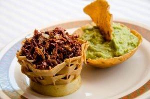 Receta de guacamole con chapulines