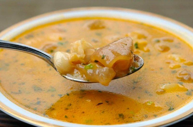Receta de sopa de chapulines
